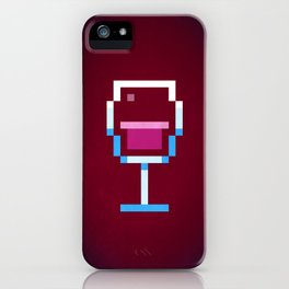 Pixel Wine iPhone Case