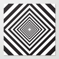 square Canvas Prints featuring Square by Vadeco