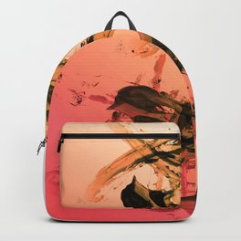 Calm and Fiery Abstraction Backpack