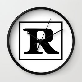 Rated R Wall Clock