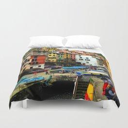 Cinque Terre - Riomaggiore Duvet Cover