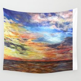 Sunset for Georgia Wall Tapestry