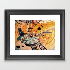 Where would you like to start? Framed Art Print