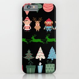 Christmas Elves & More iPhone Case