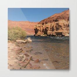 Colorado_River, Lees Ferry, Arizona Metal Print