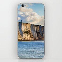 Cretaceous rocks of Dover iPhone Skin
