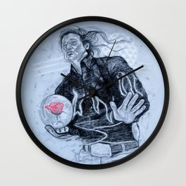 big ern mccracken- KINGPIN Wall Clock