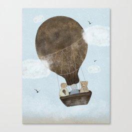 a teddy bear adventure Canvas Print