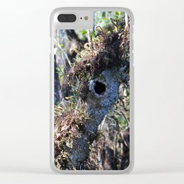 The Mysterious Inhabitant Clear iPhone Case