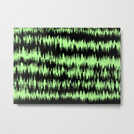 Forest Line Metal Print
