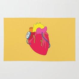 Countdown Heart Rug