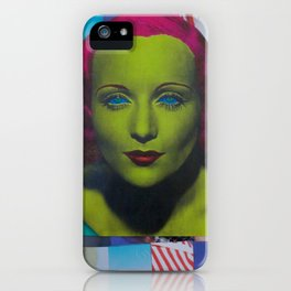 Carole Lombard iPhone Case