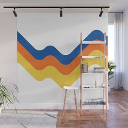 Sound Wave Wall Mural