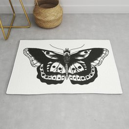 Butterfly tattoo Rug