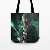 steampunk Tote Bags featuring Steampunk by Legend Factory