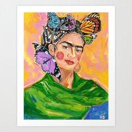 Monarch - Frida collection - Art Print