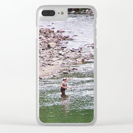 Looking for Salmon Clear iPhone Case