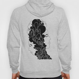 the four faces Hoody