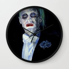 Joker Suicide Squad Wall Clock