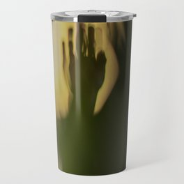 A Lonely Hand, wrist, in shadow, dark and light Travel Mug
