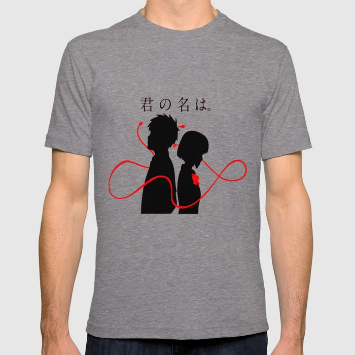 Your Name Kimi No Na Wa T Shirt By Otakupapercraft Society6