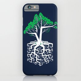 Cube Root iPhone Case