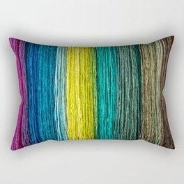 Earth Tones Rectangular Pillow