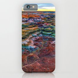 The Glorious Morning - Aerial Birds Eye View Landscape Abstract iPhone Case
