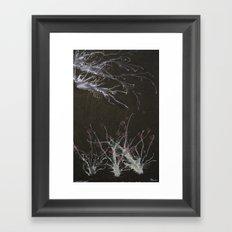 Winter ends Framed Art Print