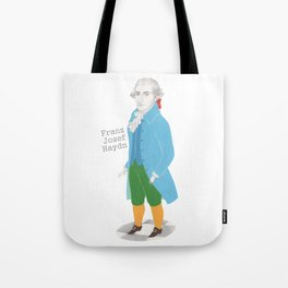 Franz Josef Haydn Tote Bag