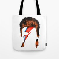 lucas david Tote Bags featuring David by BomDesignz