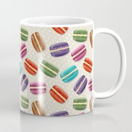 Colorful macarons pattern Coffee Mug