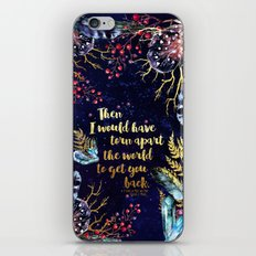 ACOMAF - Torn Apart The World iPhone Skin