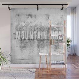 Mountain Girl Wall Mural