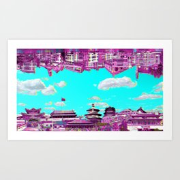 marcopolo with no echo Art Print