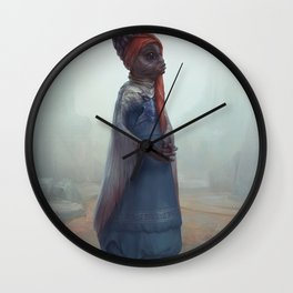 The Noblewoman Wall Clock