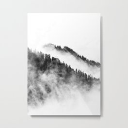 Misty Forest 2 Metal Print