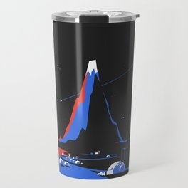 Asteroid Fly By Travel Mug