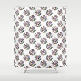 Everlasting gobstopper Shower Curtain