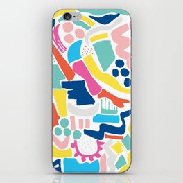 Colour Scatter iPhone Skin