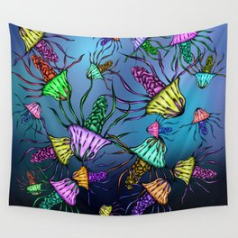 Stinging Party Wall Tapestry