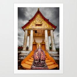 Somdet Temple Art Print