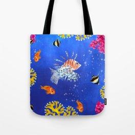 Coral reef Tote Bag