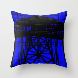 Barb wire 1 Throw Pillow