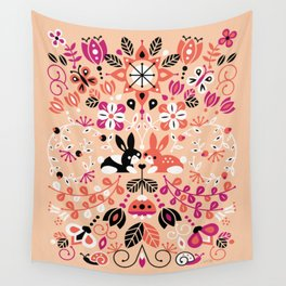 Bunny Lovers Wall Tapestry