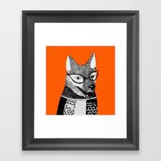 Mr. Fox Framed Art Print