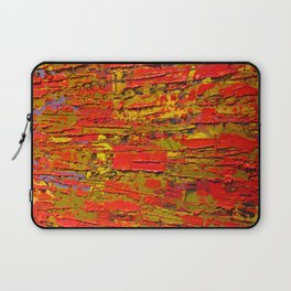 Up Close & Personal with Red Townscape II, #1 Laptop Sleeve