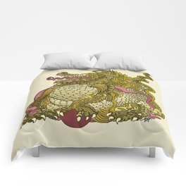 Dragon Royal Gold Comforters