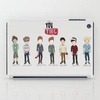 youtube iPad Cases featuring Youtube Boys  by Natasha Ramon