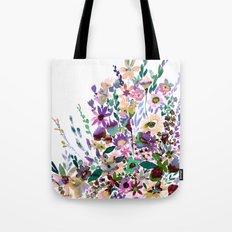 Scarlett Floral Pastel Tote Bag
